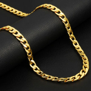 Jewelry - 316 Stainles steel and 18k heavy gold plated